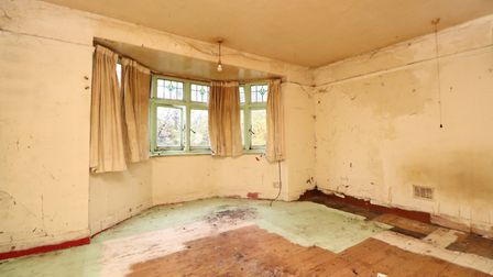 The master bedroom measures 14ft x 14ft 9in. Picture: Paul Barker Estate Agents