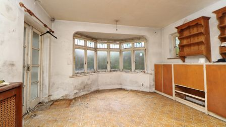 The dining room as seen from the kitchen. Picture: Paul Barker Estate Agents
