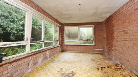 The garden room is a relatively recent addition. Picture: Paul Barker Estate Agents