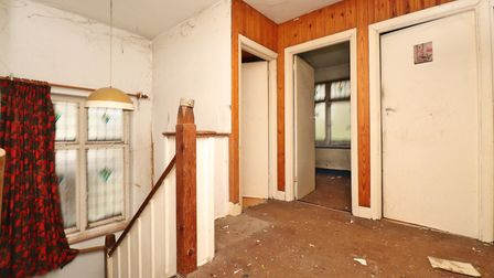 There are three bedrooms, a bathroom and a separate WC on the first floor. Picture: Paul Barker Estate Agents