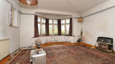 The lounge is at the front of the property. Picture: Paul Barker Estate Agents