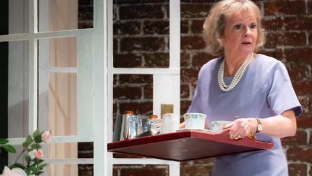 Susie Major in Relatively Speaking at the Abbey Theatre in St Albans. Performances of the Alan Ayckbourn comedy are being...