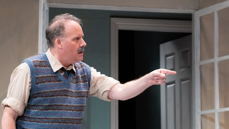 Russell Vincent in Relatively Speaking at the Abbey Theatre in St Albans. Picture: Anne Frizell