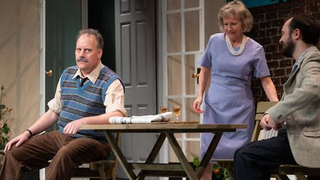 Relatively Speaking at the Abbey Theatre in St Albans. Performances of the Alan Ayckbourn comedy are being streamed until...