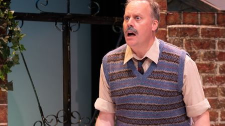 The Company of Ten's production of Relatively Speaking is being streamed until November 14. Picture: Anne Frizell