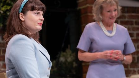 Alan Ayckbourn comedy Relatively Speaking at the Abbey Theatre in St Albans. Picture: Anne Frizell