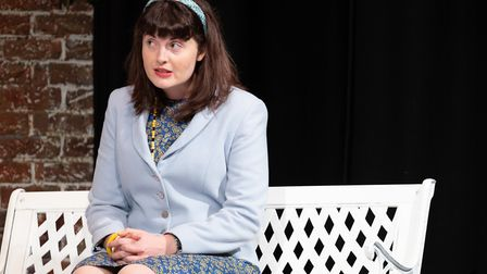 The dress rehearsal for Relatively Speaking at the Abbey Theatre in St Albans. Picture: Anne Frizell