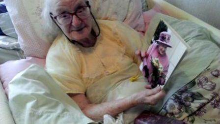 Kathleen celebrated her 100th birthday with family and friends at home in St Ives. Picture: FAMILY