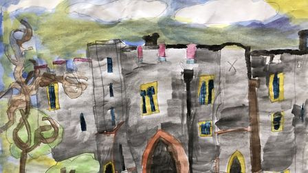 Phoebe Williams from Cunningham Hill Infant School's group winning entry. Picture: Maltings