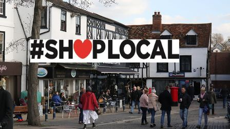 The Comet is running a campaign encouraging people to Shop Local this Christmas. Picture: Danny Loo