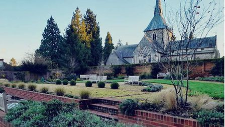 Crinkle Crankle Garden on the Wheathampstead Heritage Trail. Picture: St Albans BID