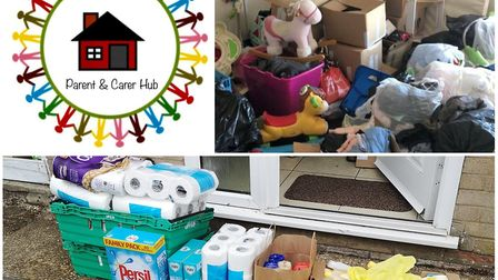 Super mums in St Ives are looking for extra space for donations to their hub. Picture: FACEBOOK