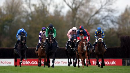 Runners and riders in the tote.co.uk Ten To Follow Conditional Jockeys' Veterans' Handicap Chase (Series Qualifier) at...