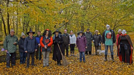 Rotary Club of Huntingdon Cromwell, including the President of the Rotary Club Alisdar Wotherspoon. PICTURE: Archant