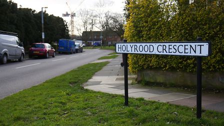 Holyrood Crescent, Cottonmill. Picture: Danny Loo