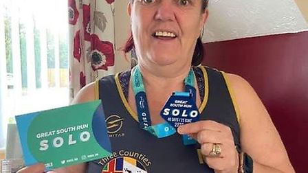 Members of Three Counties Running Club donned their walking boots and weighted rucksacks for charity, while other runners...