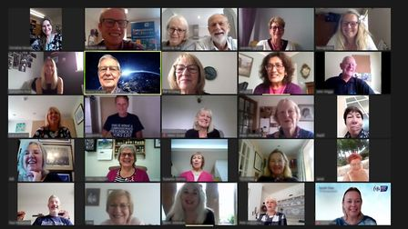 Garden House Hospice Care has been carrying out training for Compassionate Neighbours via Zoom. Picture: Beth Power