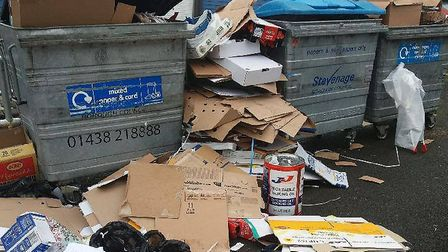 Stevenage Borough Council are warning residents that they will face fixed penalty fines of £300 if caught fly-tipping.
