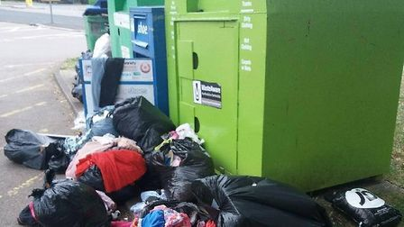 Stevenage Borough Council say fly-tipping has been a particular problem in recent weeks. Picture: SBC