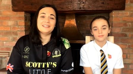 Brooke Scott appeared on Good Morning Britain with her mother Nikki Scott and spoke of their charity Scotty?s Little...