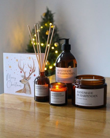 """""""At this time of year, our calendar is normally packed with Christmas markets and events."""" Picture: Handmade in Harpenden"""