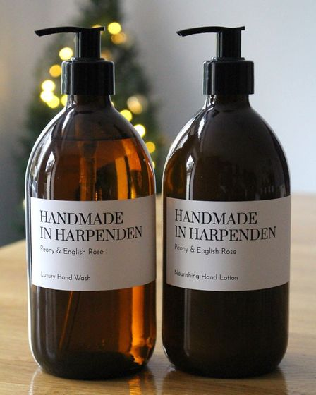 Dedicated to living a clean, sustainable way of life, the duo created Handmade in Harpenden to share their custom blended...
