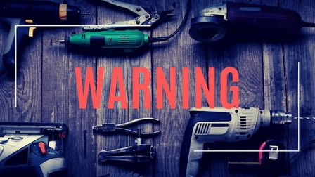 Power tools were stolen from three vans in Fenland after thieves cut holes next to locking mechanisms to gain access. The...