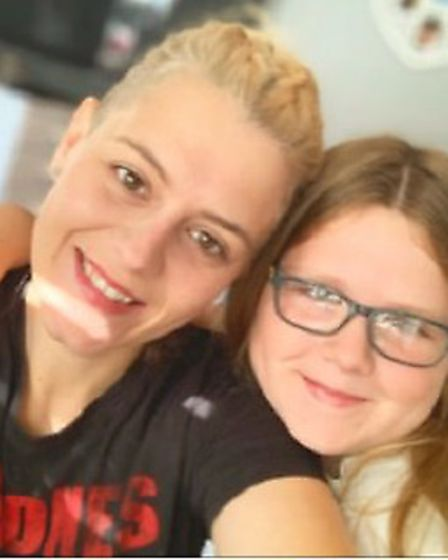 Hitchin's Vikki Hammond and daughter Daisy have praised Stand-by-me for their bereavement support. Picture: Vikki Hammond