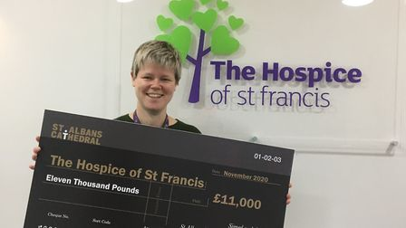The Cathedral firework display raised a record amount of money for charities including the Hospice of St Francis. Lucy...