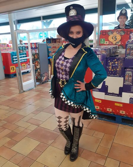 Leon Pileborg Dunnster has raised a whopping £341.49 for Children in Need. Picture: Morrisons St Albans
