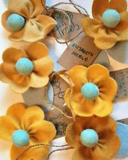 Field House was gifted with a craft kit and plants, using the petals to create a yellow dye which then coloured the...