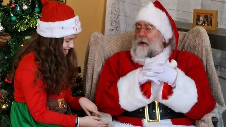 Children of St Albans will still be able to meet Father Christmas this festive season! Picture: StAR