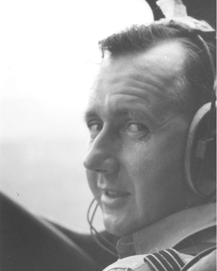 William (Bill) Stevens in his former RAF days PICTURE: Nicole Daybell