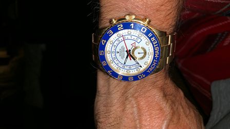 A Rolex watch was one of the items stolen in Radlett on October 25. Picture: Herts Police