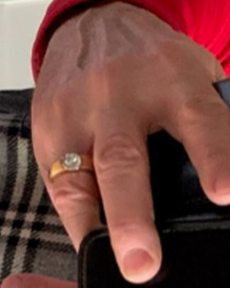 The victim's wedding ring was also stolen in Radlett on October 25. Picture: Herts Police