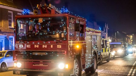 Dennis The Fire Engine. (2018) Picture: Gary Walker