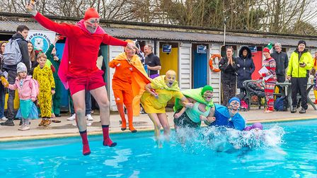 This year, participants are to subsititute plunging into the ice cold water of St Albans Sub Aqua Club outdoor pool with...