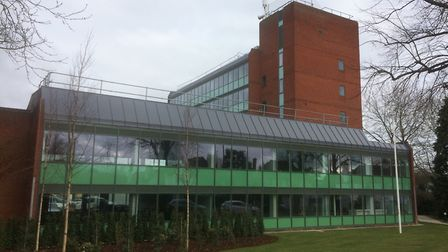 North Herts District Council offices in Gernon Road, Letchworth. Picture: North Herts District Council