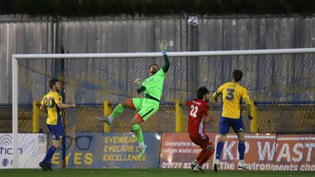 St Albans City drew 0-0 with Hungerford Town at Clarence Park in the National League South. Picture: PETER SHORT