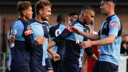 Both St Neots Town and St Ives Town will return to competitive action on December 8. Picture: DAVID RICHARDSON/RICH IN VIDEO