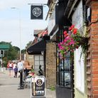 Amenities on Kings Langley's busy high street include Oscar's Pizza. Picture: Danny Loo
