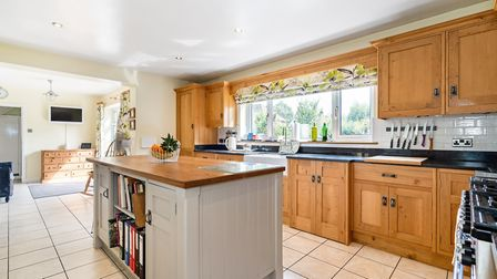 There is a spacious kitchen/breakfast room. Picture: Hamptons