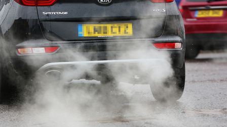 Exhaust fumes are causing air pollution limits to exceed their limits at the junction of Darkes Lane and Mutton Lane.