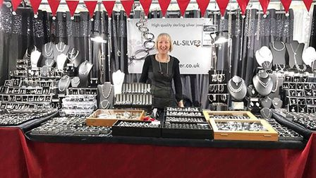 EVal Silver will hold a stall at the Letchworth Christmas Market this year. Picure: Zoom Events