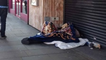 Homeless charities have benefited from a virtual sleepout in St Albans. Picture: Hannah Somerville.