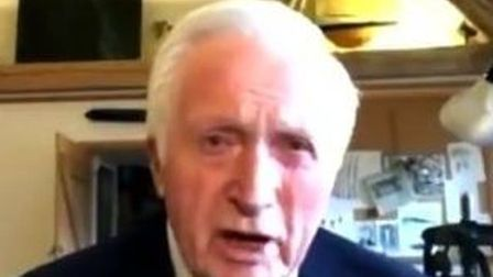 Former Question Time presenter David Dimbleby