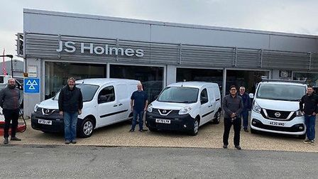 Wisbech St Mary Nissan dealership JS Holmes has won praise for the way it looks after its business customers – and the...