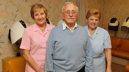 Tony Huckle ran Anthony's Hairdresser in the town for 46 years. Picture: Archant