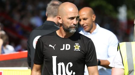 Former Cambridge United boss Joe Dunne is the new assistant to Alex Revell at Stevenage. Picture: DANNY LOO