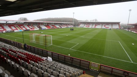 Stevenage are set to welcome fans back to the Lamex Stadium on Saturday for the visit of Southend United. Picture: GAVIN...